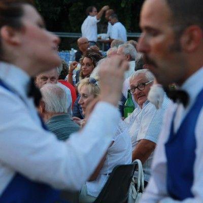 Crazy Singing Waiters