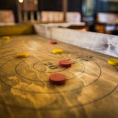 Old Wooden Games