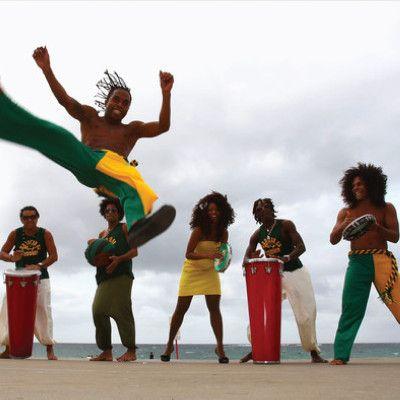 Spettacoli di Capoeira